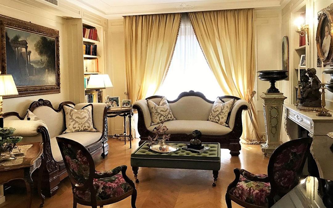 Luglio 2019, il perfetto equilibrio tra mobili classici e moderni tessuti
